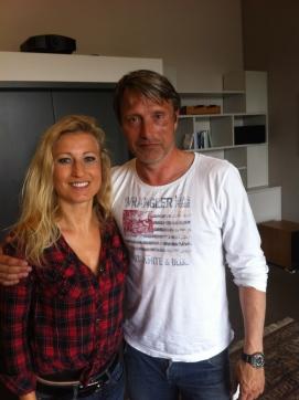 Interviewbild mit Mads Mikkelsen. Foto; privat