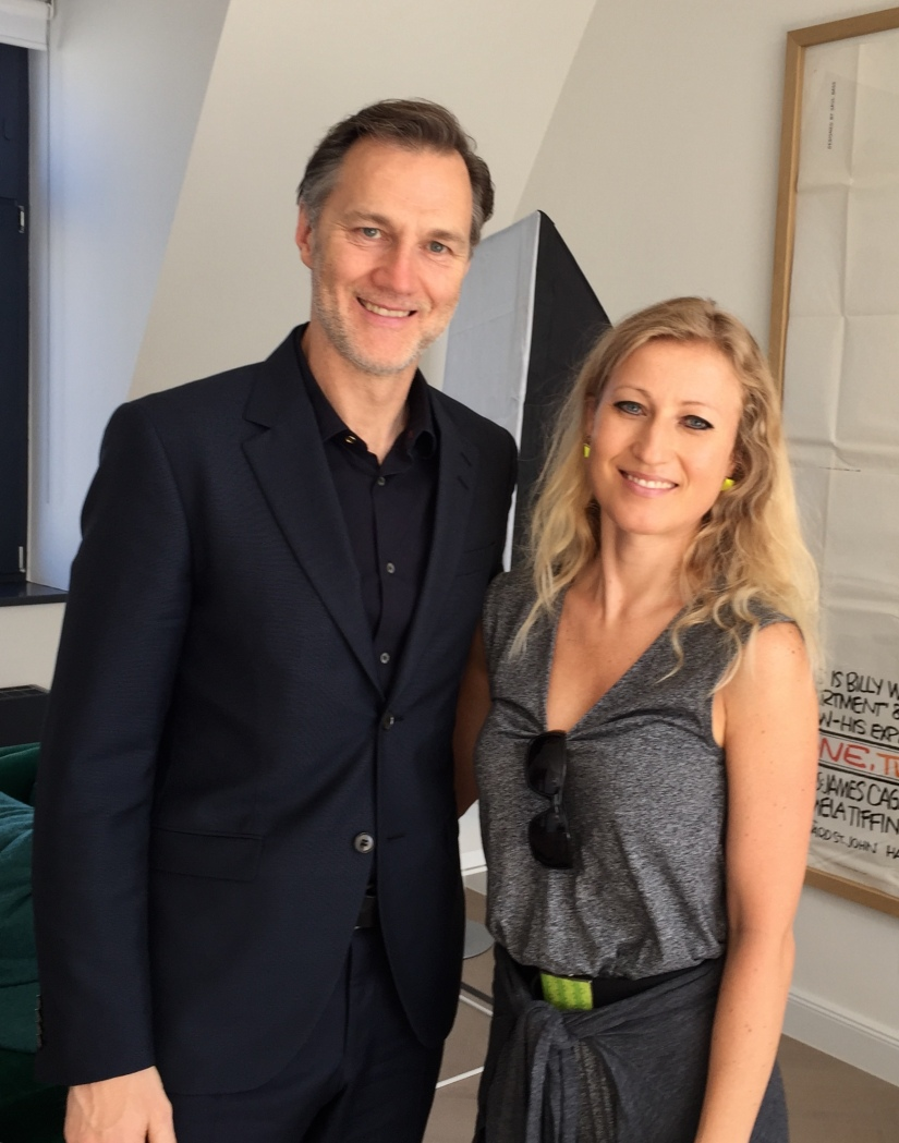Interviewfoto mit David Morrissey