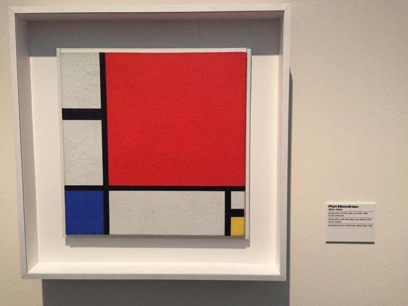 Albertinum: Mondrian
