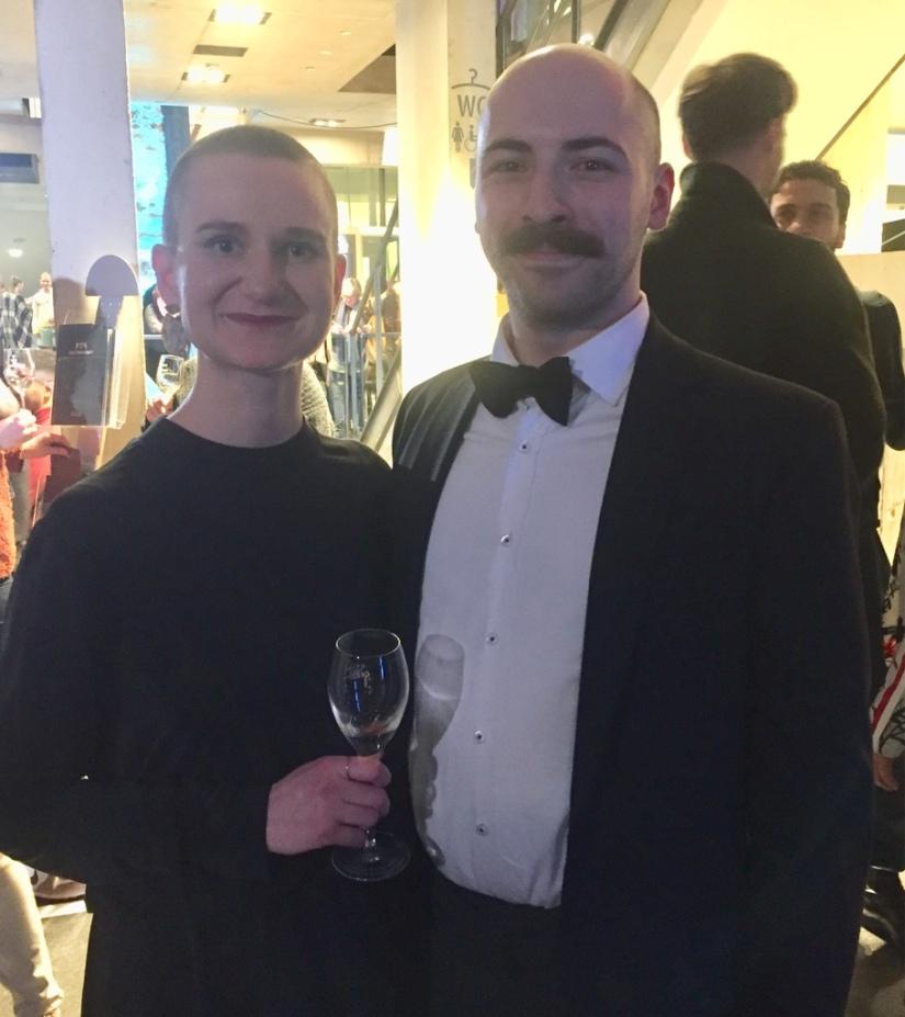 Nadja Herklotz mit Freund Lukas