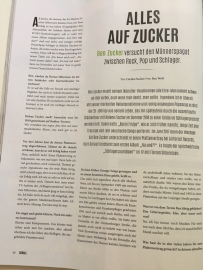 Ben Zucker im Schall Magazin 2/2019