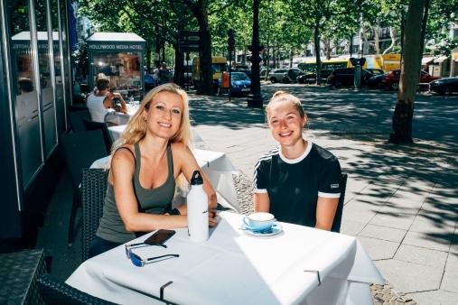 Focus-Interview mit Gina Lückenkemper im Sommer 2019